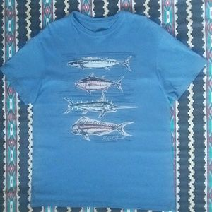 Jack O'Neill T-Shirt Fish Graphic